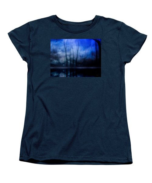 Foggy Night Women's T-Shirt (Standard Cut) by Gabriella Weninger - David
