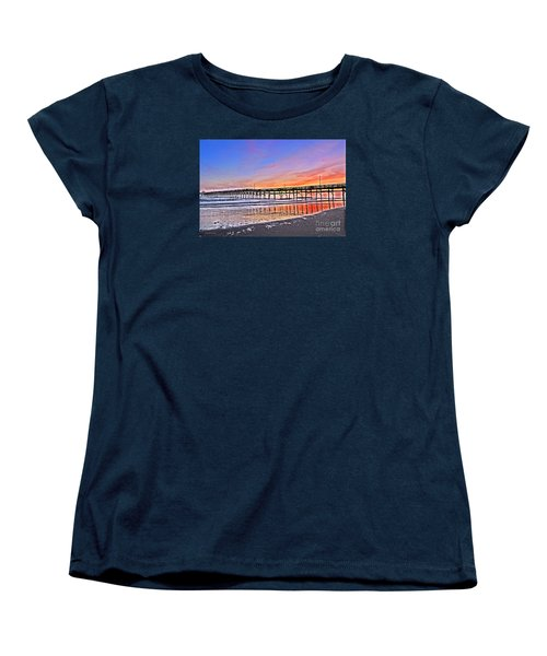 Foggy Sunset Women's T-Shirt (Standard Cut) by Shelia Kempf