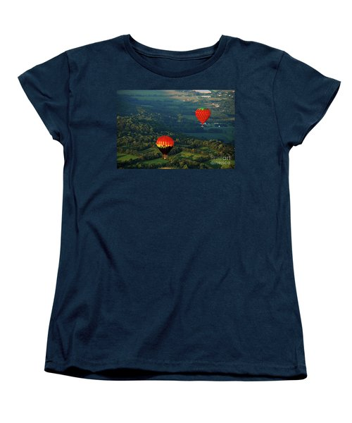 Follow Me Women's T-Shirt (Standard Cut) by Lori Tambakis