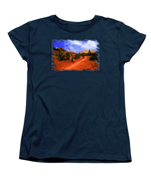 Follow Me Women's T-Shirt (Standard Cut) by Mark Myhaver