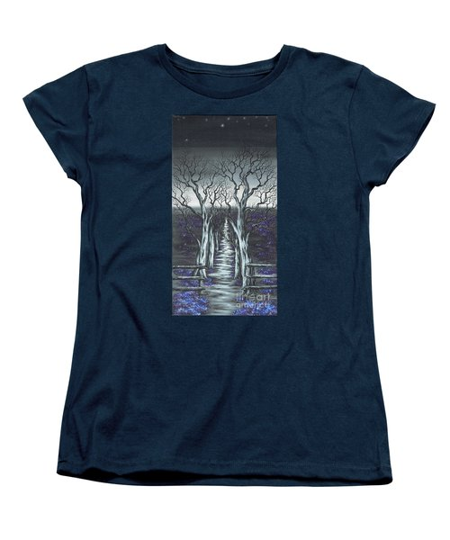 Follow The Stars Women's T-Shirt (Standard Cut) by Kenneth Clarke