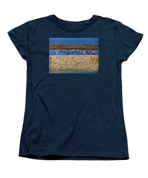 Women's T-Shirt (Standard Cut) featuring the photograph Follow The Yellow Brick Road by Terri Waters