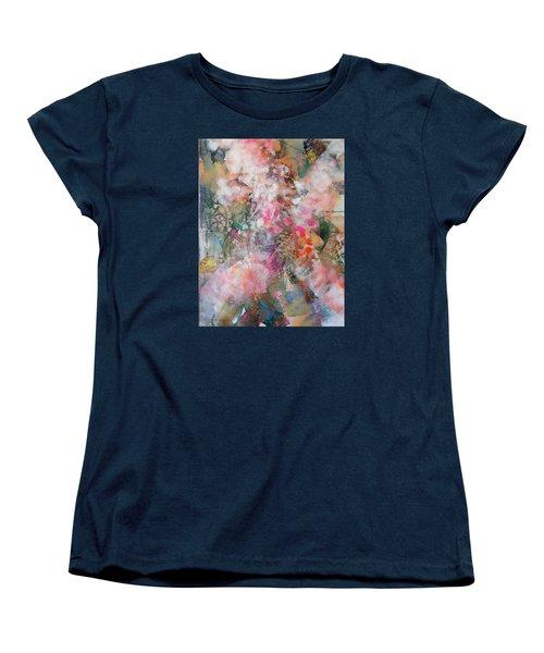 Footprints Women's T-Shirt (Standard Cut) by Becky Chappell