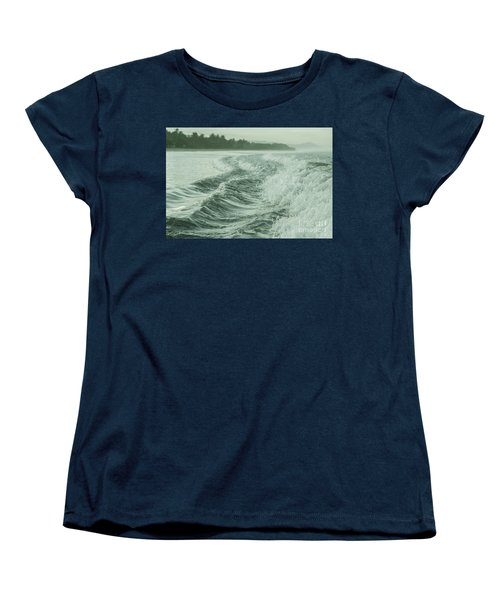 Forces Of The Ocean Women's T-Shirt (Standard Cut) by Iris Greenwell
