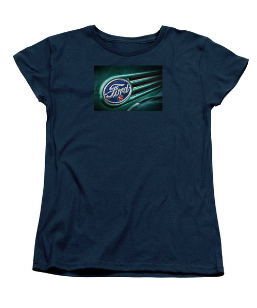 Women's T-Shirt (Standard Cut) featuring the photograph Ford 85 by Caitlyn Grasso
