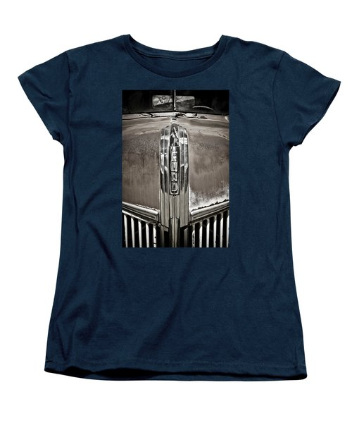 Ford Chrome Grille Women's T-Shirt (Standard Cut) by Marilyn Hunt