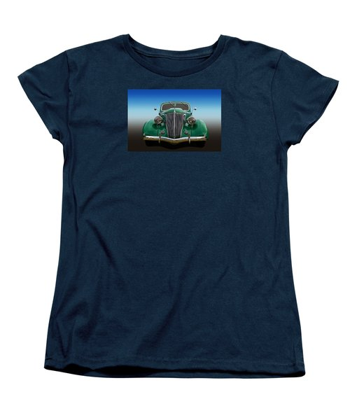 Women's T-Shirt (Standard Cut) featuring the photograph Ford Coupe by Keith Hawley