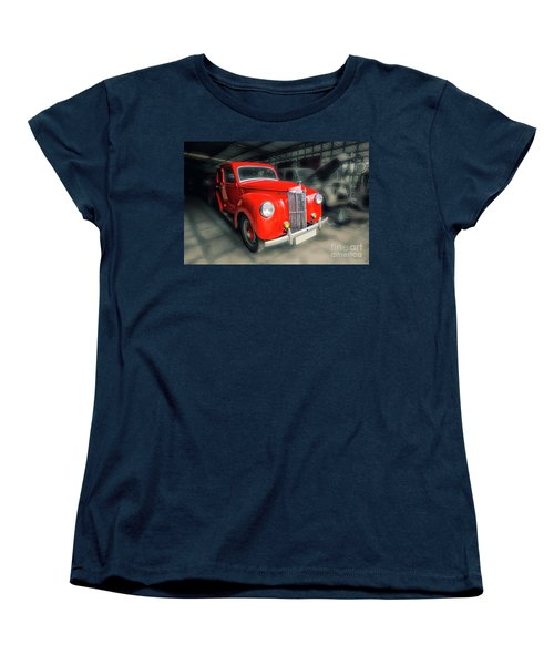 Women's T-Shirt (Standard Cut) featuring the photograph Ford Prefect by Charuhas Images