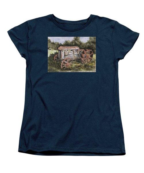 Fordson Model F Women's T-Shirt (Standard Cut) by Sam Sidders