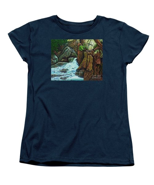 Forest Brook IIi Women's T-Shirt (Standard Cut) by Michael Frank