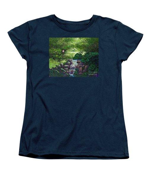 Forest Brook Iv Women's T-Shirt (Standard Cut) by Michael Frank