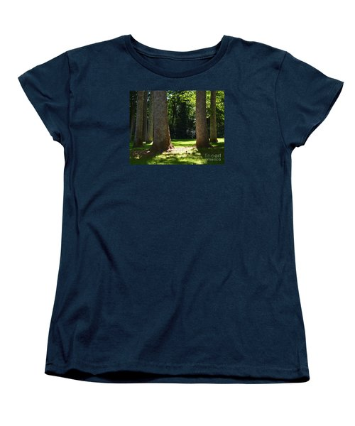 Forest Glen Women's T-Shirt (Standard Cut) by Lew Davis