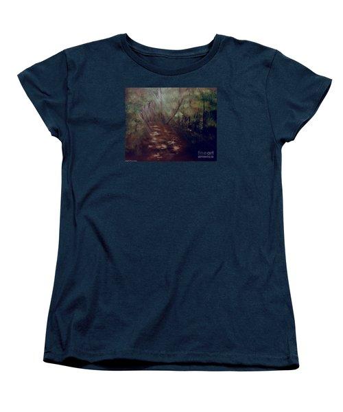 Forest Rays Women's T-Shirt (Standard Cut)