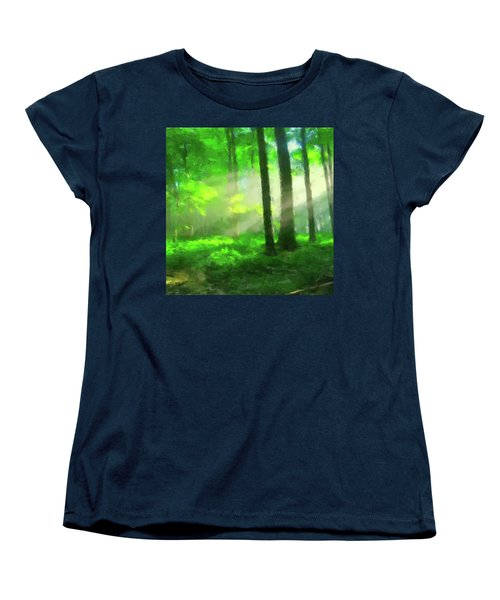 Forest Sunlight Women's T-Shirt (Standard Cut)
