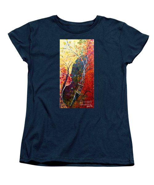 Forest Symphony Women's T-Shirt (Standard Cut)