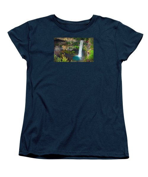Brandywine Falls, Bc Women's T-Shirt (Standard Cut) by Heather Vopni