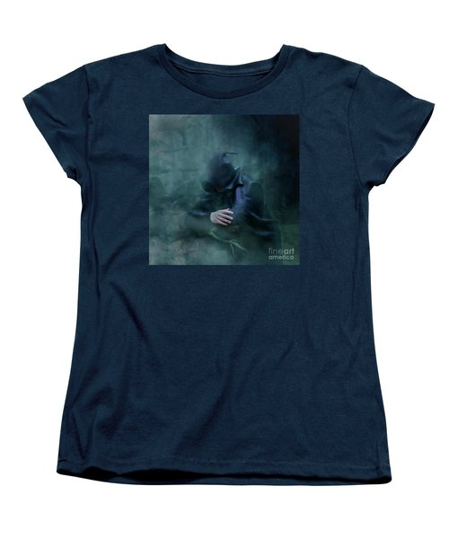 Forgetting  Women's T-Shirt (Standard Cut) by Agnieszka Mlicka