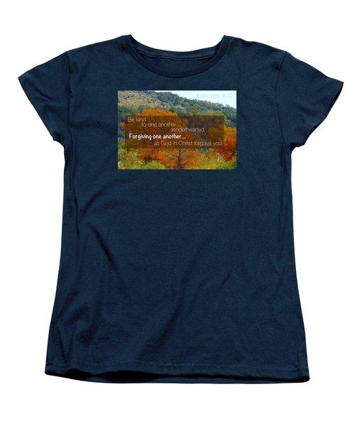 Forgiveness1 Women's T-Shirt (Standard Cut) by David Norman