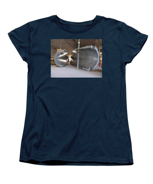Formwork Women's T-Shirt (Standard Cut) by Steve Sahm
