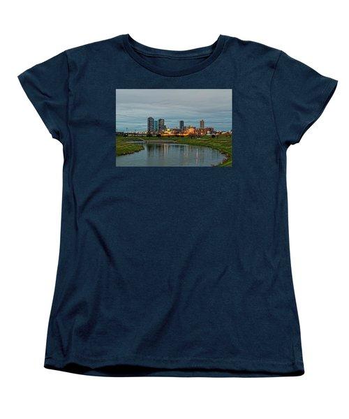 Fort Worth Color Women's T-Shirt (Standard Cut) by Jonathan Davison