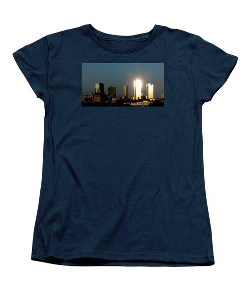 Fort Worth Gold Women's T-Shirt (Standard Cut) by Douglas Barnard