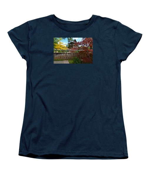 Fort Worth Japanese Gardens 2771a Women's T-Shirt (Standard Cut) by Ricardo J Ruiz de Porras
