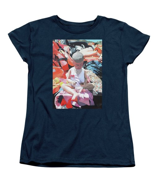 Women's T-Shirt (Standard Cut) featuring the painting #fortresseurope by Eric Kempson