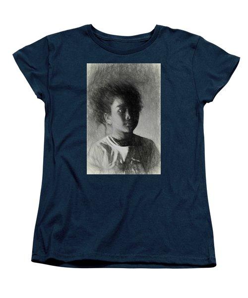 Forward Thinking Women's T-Shirt (Standard Cut) by Terry Cork
