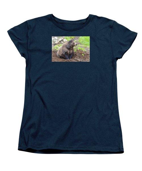 Found A Hole Women's T-Shirt (Standard Cut) by Harold Piskiel