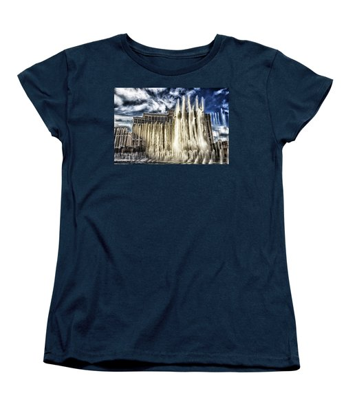 Fountain Of Love Women's T-Shirt (Standard Cut) by Michael Rogers