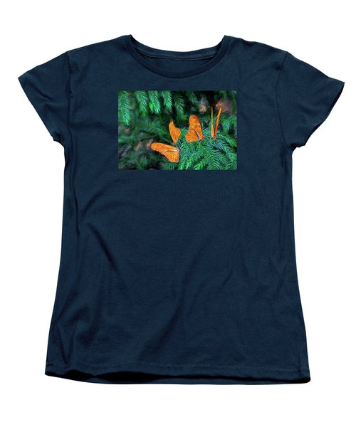 Four Brothers Women's T-Shirt (Standard Cut) by James Steele