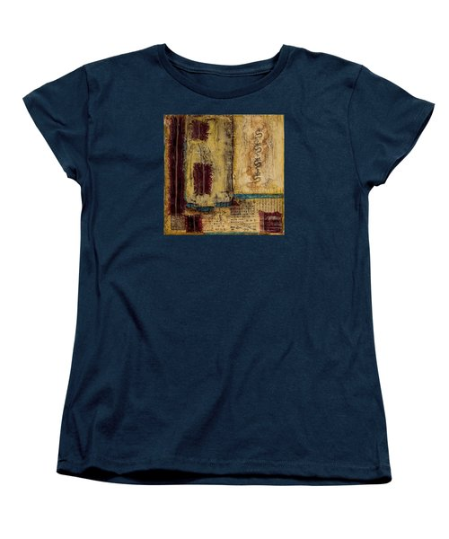 Women's T-Shirt (Standard Cut) featuring the mixed media Four Dragons by Bellesouth Studio