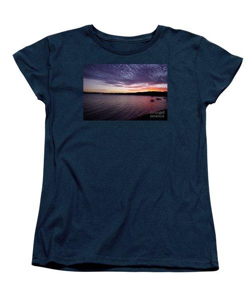 Four Elements Sunset Sequence 4 Coconuts Qld  Women's T-Shirt (Standard Cut) by Kerryn Madsen- Pietsch