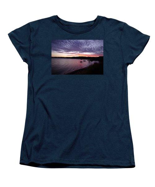 Four Elements Sunset Sequence 6 Coconuts Qld  Women's T-Shirt (Standard Cut) by Kerryn Madsen-Pietsch