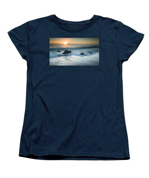 Four Rocks Women's T-Shirt (Standard Cut) by Brad Grove