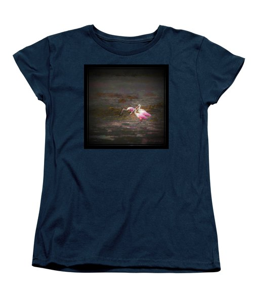 Four Spoons On The Marsh Women's T-Shirt (Standard Cut) by Marvin Spates
