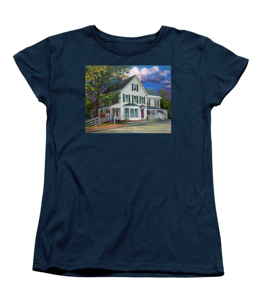 Fournier Funeral Home Women's T-Shirt (Standard Cut) by Nancy Griswold