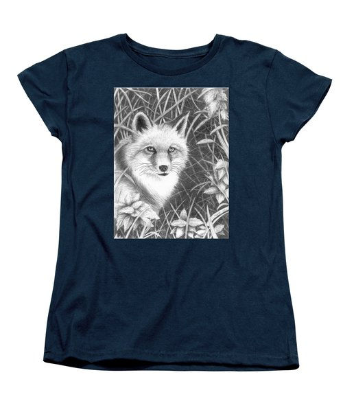 Fox Women's T-Shirt (Standard Cut) by Lawrence Tripoli