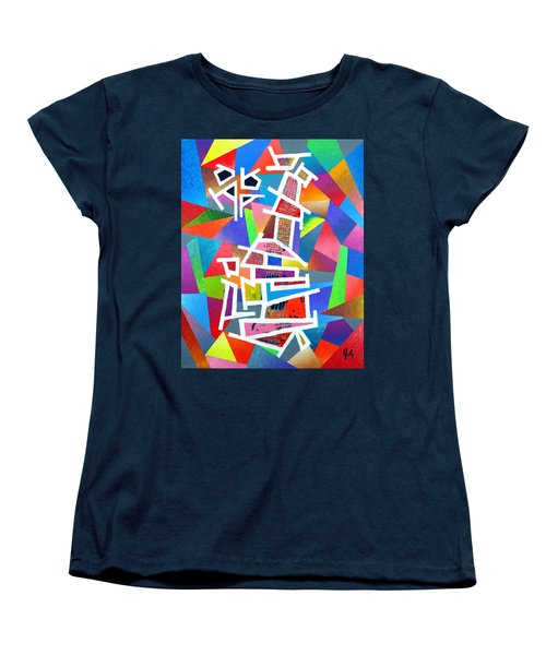 Fractured Instrument Of Love Women's T-Shirt (Standard Cut) by Jeremy Aiyadurai