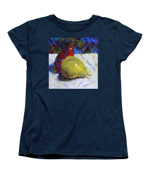 Fractured Pears Women's T-Shirt (Standard Cut) by Susan Woodward