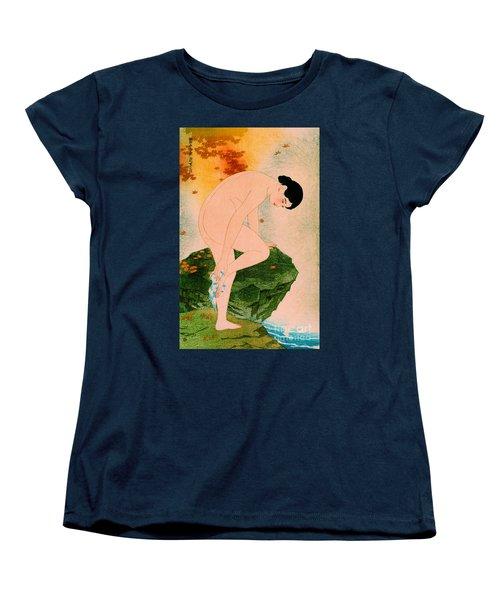 Fragrant Bath 1930 Women's T-Shirt (Standard Cut) by Padre Art