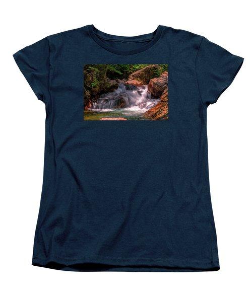 Franconia Notch 2 Women's T-Shirt (Standard Cut) by Sherman Perry