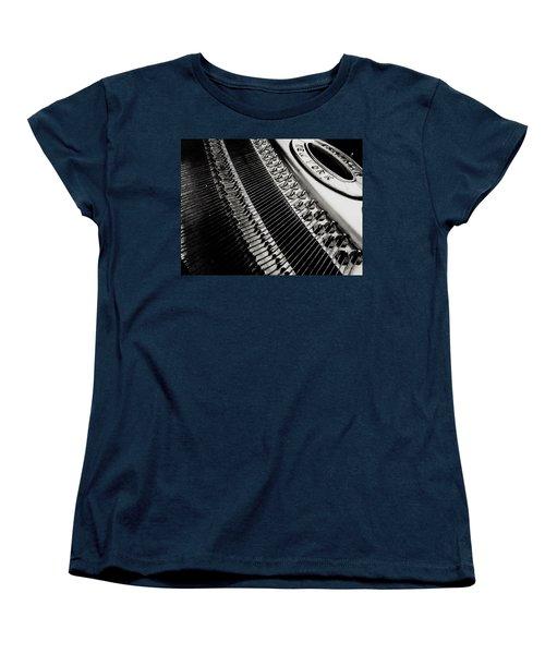 Franklin Piano Women's T-Shirt (Standard Cut) by Paul Wilford