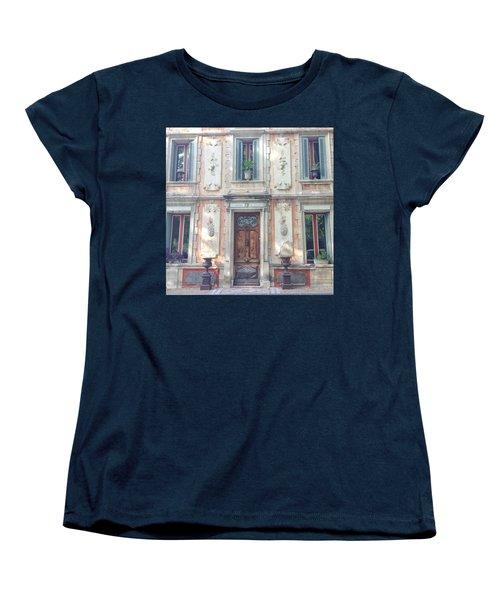 French Door Women's T-Shirt (Standard Cut) by Catherine Alfidi