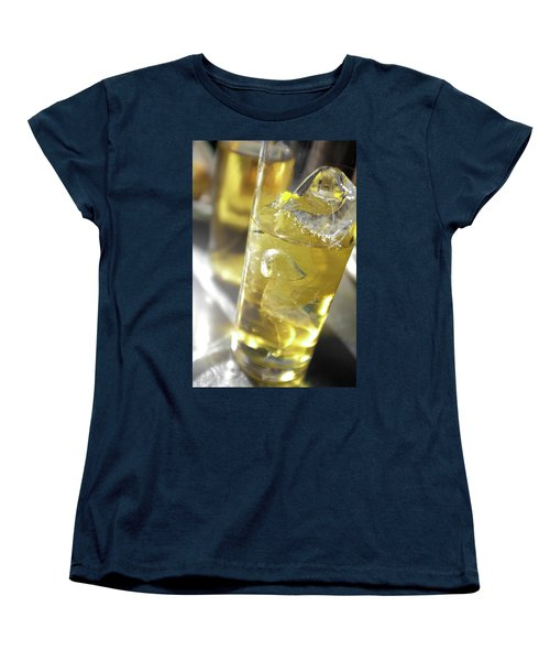 Women's T-Shirt (Standard Cut) featuring the photograph Fresh Drink With Lemon by Carlos Caetano
