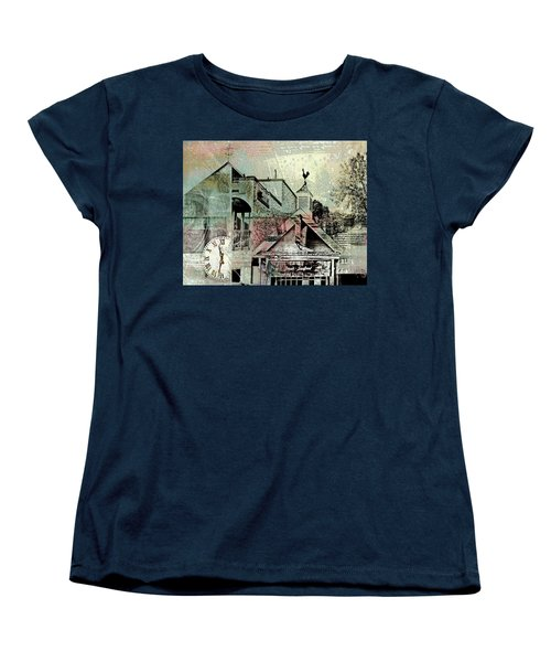 Women's T-Shirt (Standard Cut) featuring the photograph Fresh Seafood by Susan Stone