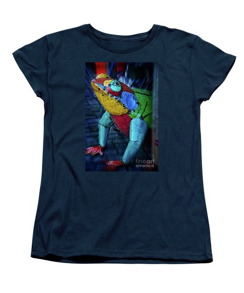 Women's T-Shirt (Standard Cut) featuring the photograph Frog Prince by Mary Machare