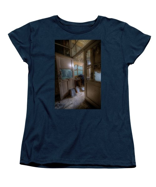 Women's T-Shirt (Standard Cut) featuring the digital art From Darkness by Nathan Wright