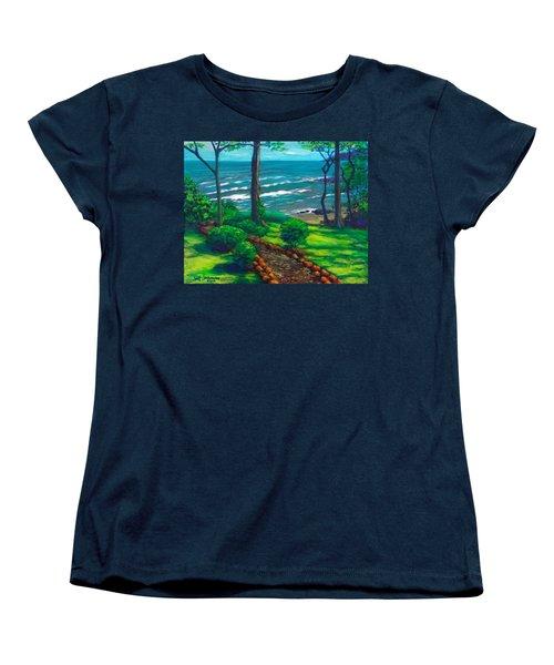 From The Hacienda Women's T-Shirt (Standard Cut) by Jeanette Jarmon