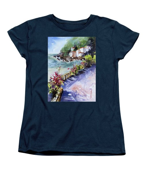 From The Walkway Women's T-Shirt (Standard Cut) by Rae Andrews